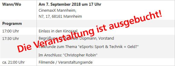 VR Jugendforum 2018