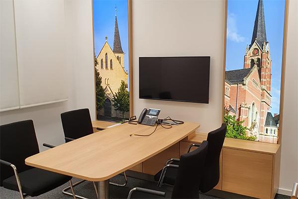 Filiale Friedrichsfeld Beratungszimmer