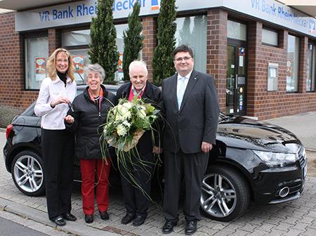 VR Bank Rhein-Neckar-Gewinnsparer gewinnt Audi A1