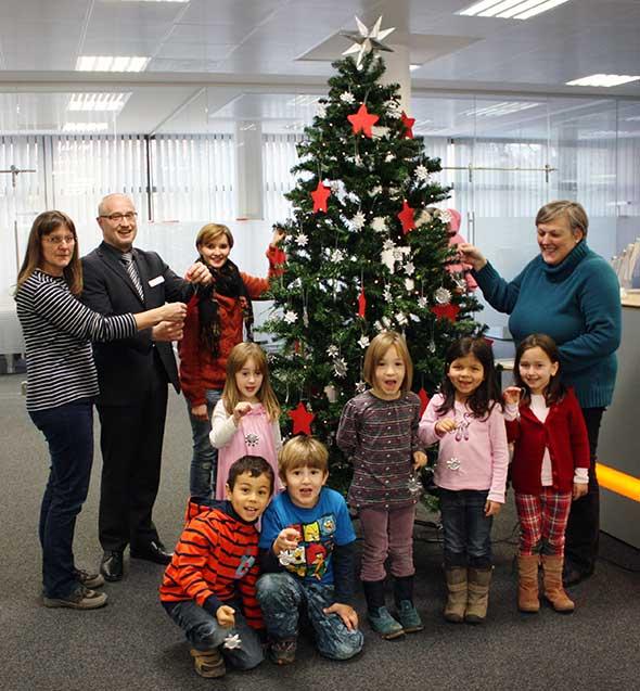 Weihnachtsstimmung in Heddesheim