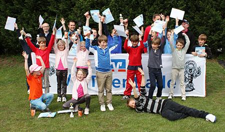 VR-Talentiade beim Golfclub Heddesheim