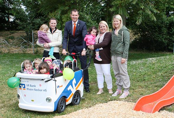 Spende VRmobil-Kinderbus