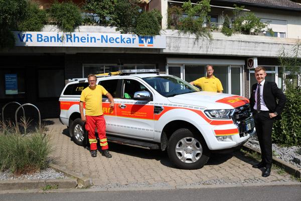 Neues Rettungsfahrzeug DLRG