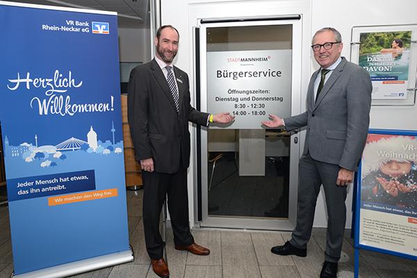 Bürgerservice Friedrichsfeld VR Bank Rhein-Neckar