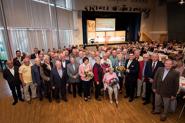 VR-Bankforum 2019 Mutterstadt, Jubilare