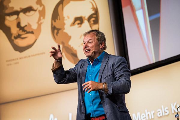 VR-Bankforum 2019 Mutterstadt, Kabarettist Franz Kain