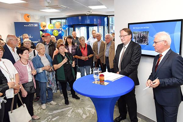 Wiedereröffnung Filiale Maudach VR Bank Rhein-Neckar