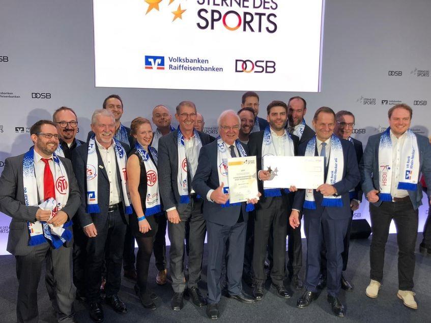 """""""Sterne des Sports"""": Zweiter Platz für die Interessengemeinschaft Sport Heddesheim"""